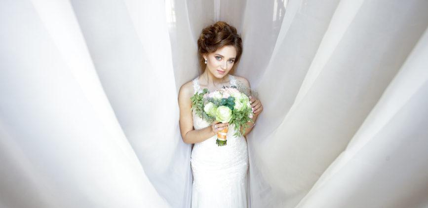 фото невесты сборы