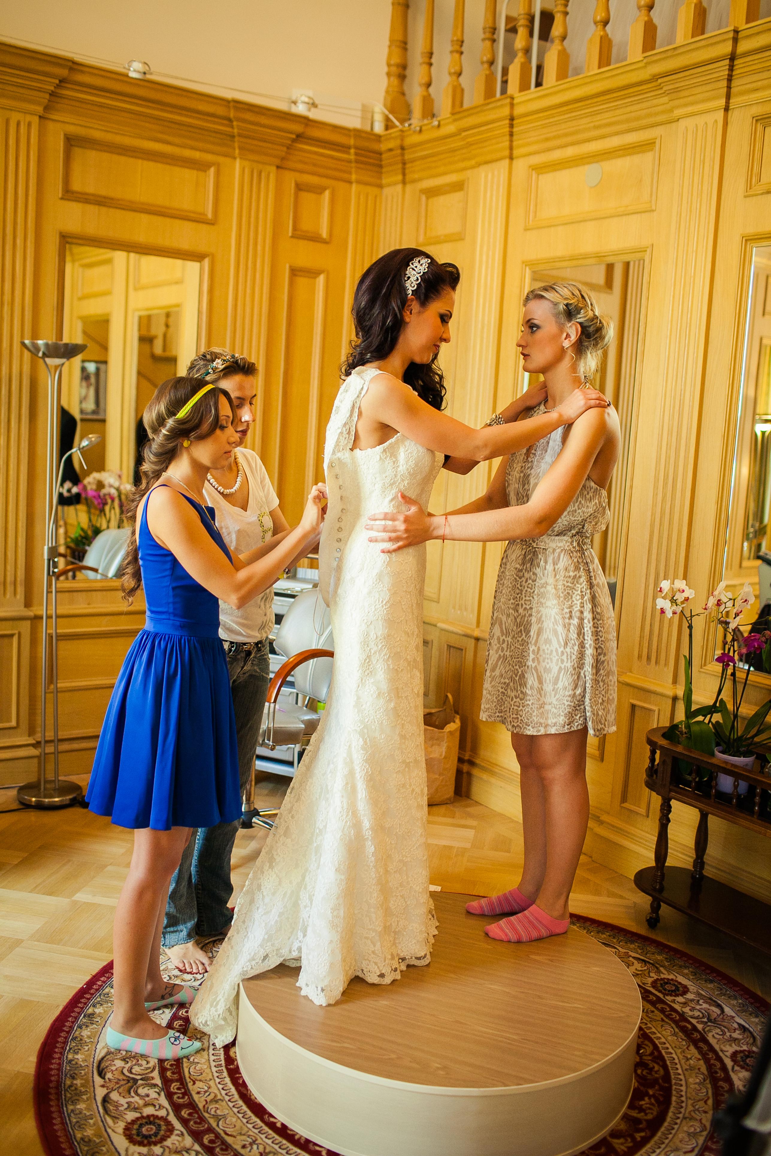 сборы к свадьбе