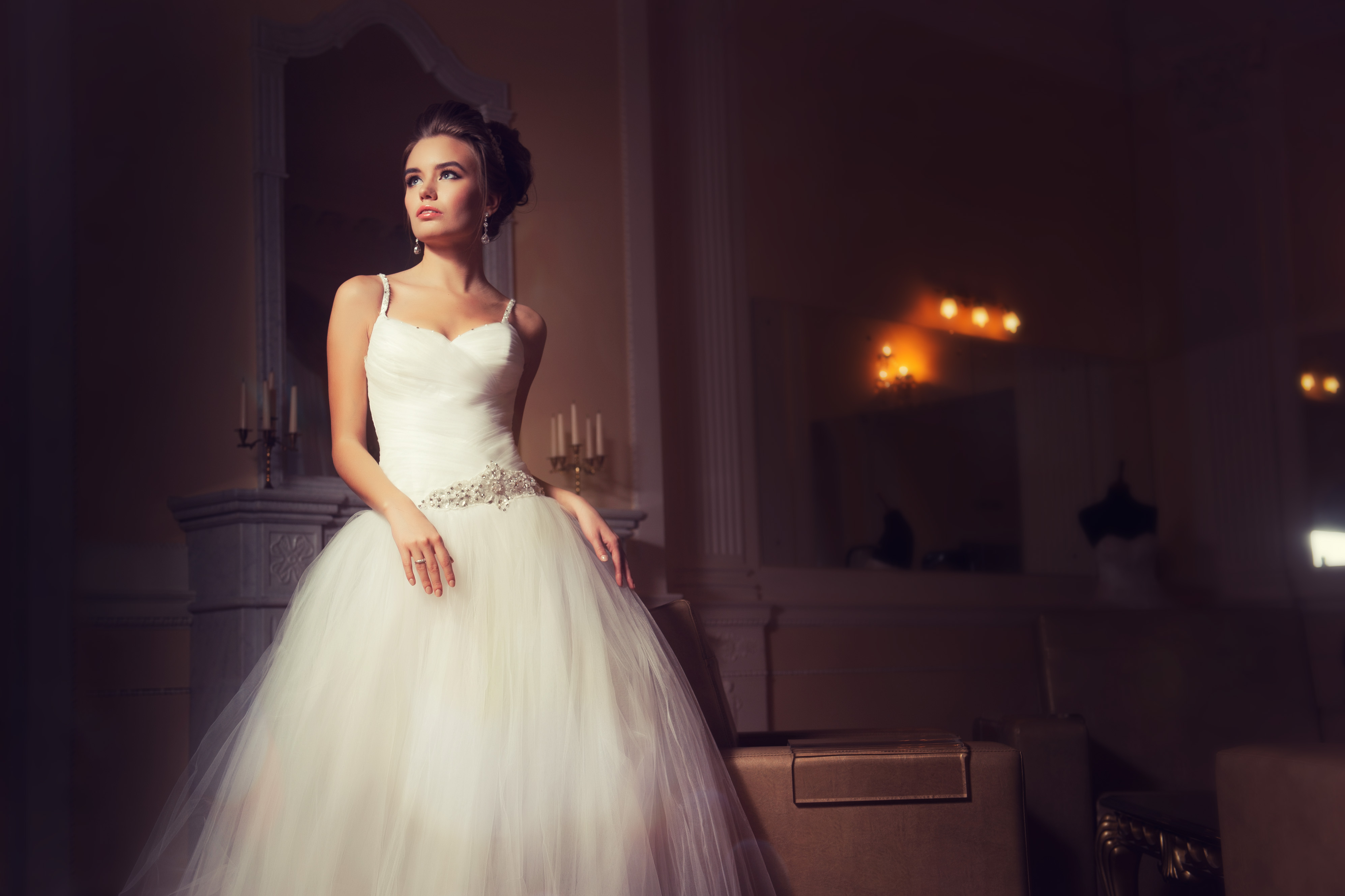 свадебная фотосессия в залах