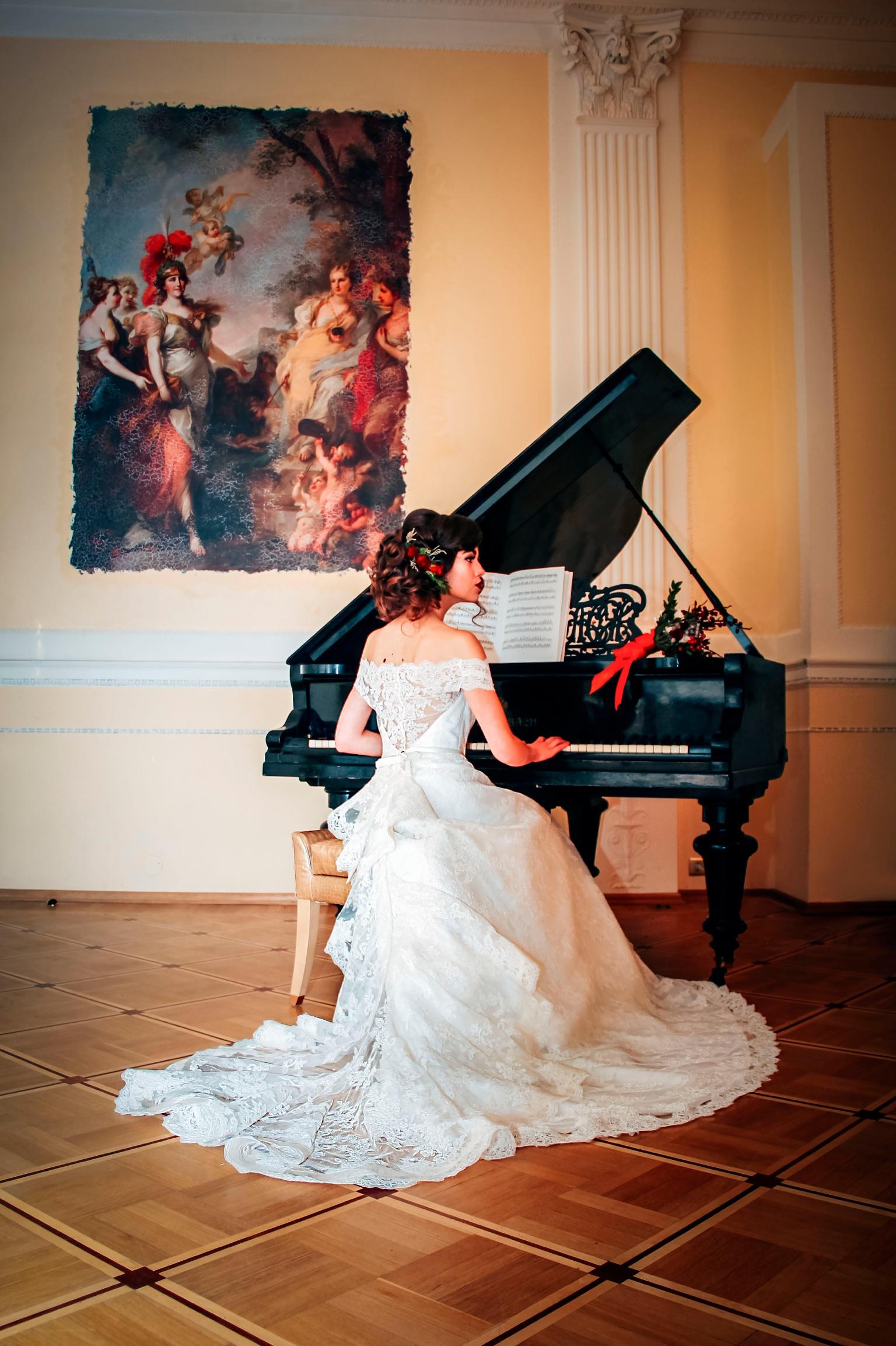 свадебная фотосессияв залах